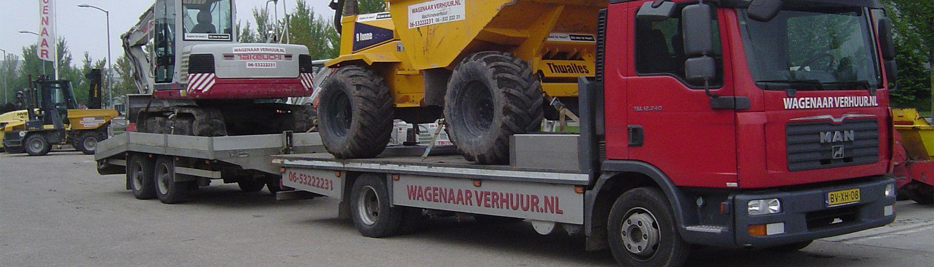 Welkom bij Wagenaar Verhuur